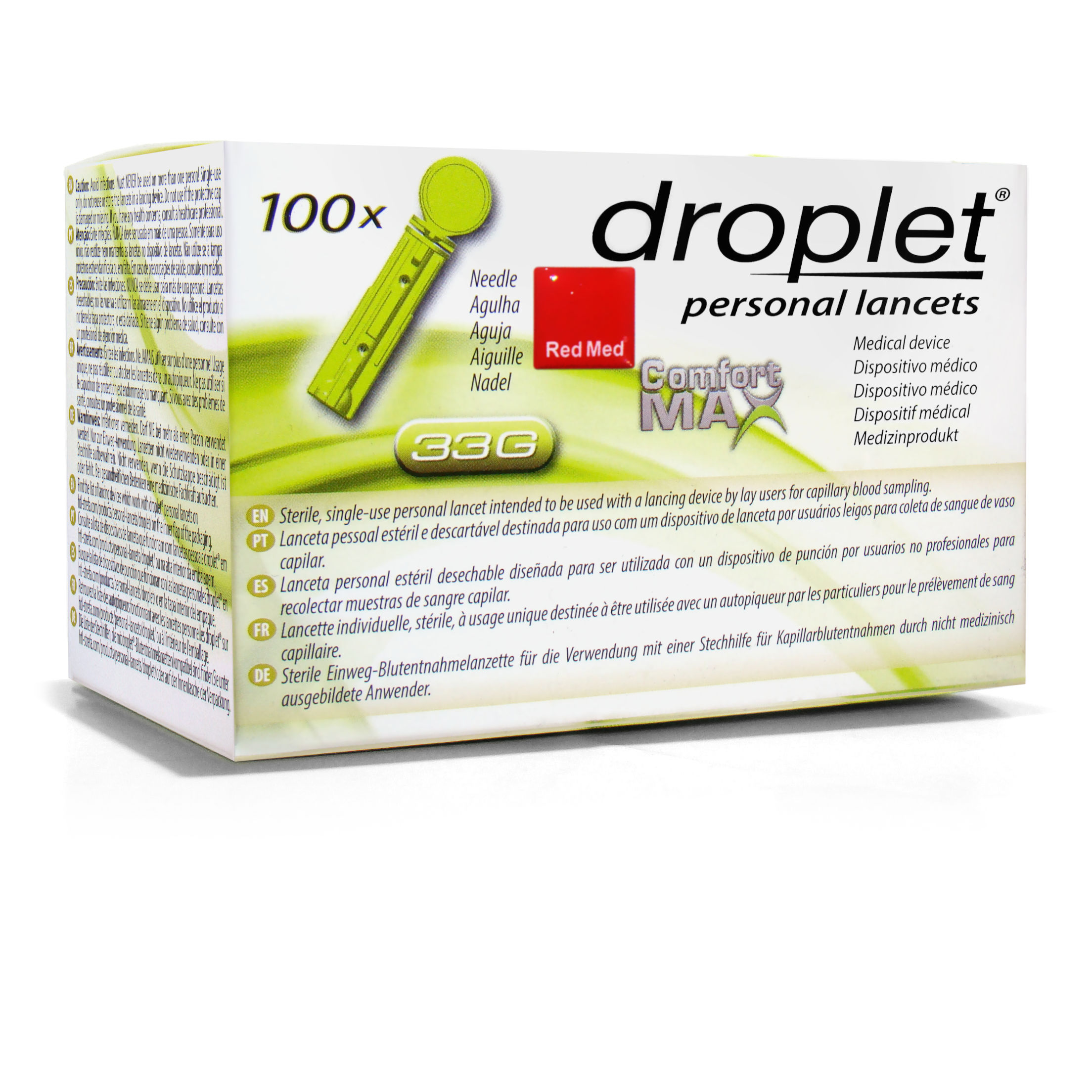 lancety-droplet-33g-opakowanie-100-redmed-2021